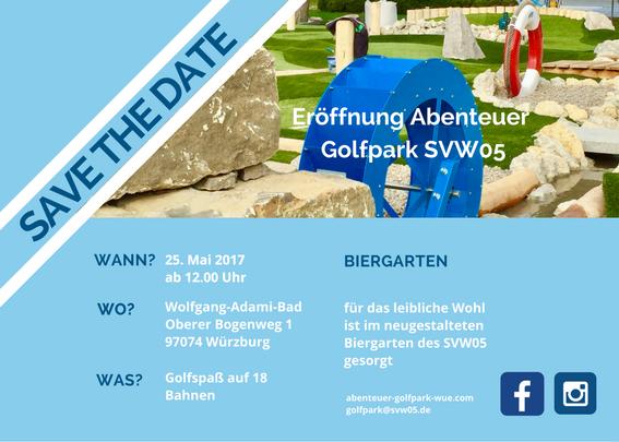 Alle wichtigen Informationen zur Eröffnung des Abenteuer Golfparks SVW05
