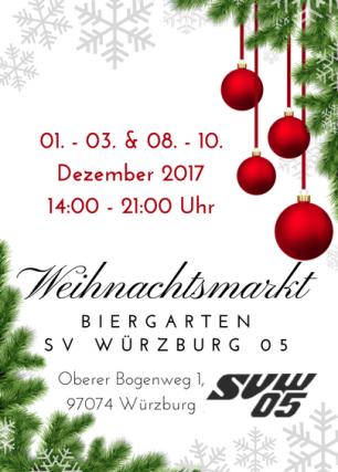 Weihnachtsmarkt im Biergarten des Schwimmvereins Würzburg 05