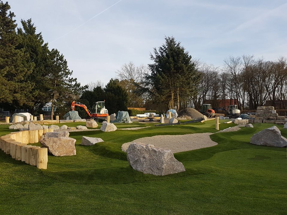 Blick über den Abenteuer Golfpark SVW05