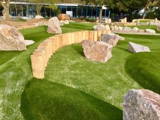 Verschiedene Elemente des Abenteuer Golfparks SVW05