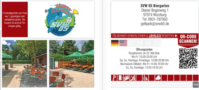 Angebot Schlemmerblock Abenteuer Golfpark SVW05