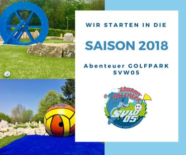 Der Abenteuer Golfpark SV Würzburg 05 startet am 24. März 2018 in die neue Minigolf-Saison